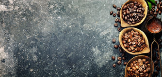 Coffee composition Stock Image