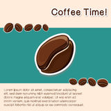 Coffee concept background. Royalty Free Stock Photo
