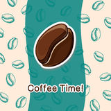 Coffee concept background. Stock Image