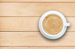 Coffee concept - cup of latte with heart Stock Image