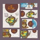 Coffee concept design Royalty Free Stock Photos