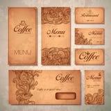 Coffee concept design Royalty Free Stock Photo