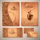 Coffee concept design Royalty Free Stock Photography
