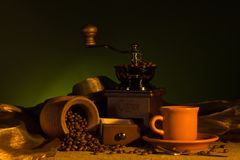 Coffee concept Royalty Free Stock Images