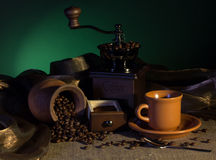 Coffee concept Stock Images