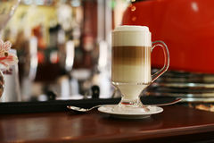 Coffee with condensed milk and honey Stock Photos