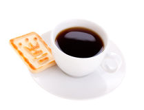 Coffee and cookie Royalty Free Stock Photo