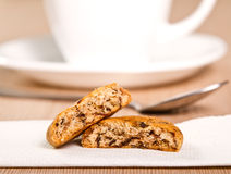 Coffee and cookie Stock Photography