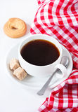 Coffee and cookie. Royalty Free Stock Photos