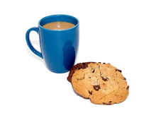 Coffee and cookie Royalty Free Stock Images