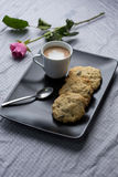 Coffee and Cookie Break Stock Images