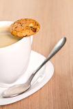 Coffee and cookie Royalty Free Stock Photography
