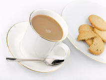 Coffee and cookies Royalty Free Stock Images