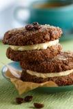 Coffee cookies Stock Photo