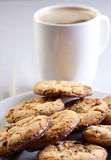 Coffee and cookies Royalty Free Stock Photo