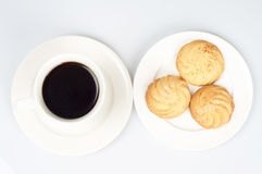 Coffee Cookies Stock Images