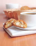 Coffee with cookies Royalty Free Stock Photography