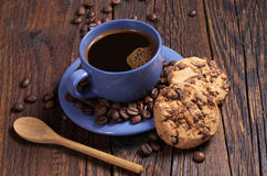 Coffee and cookies Royalty Free Stock Image