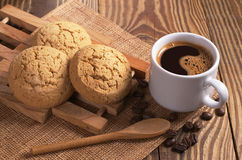 Coffee and cookies Royalty Free Stock Photos