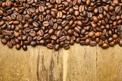 Coffee, Core, Seed, Kernels, Table Royalty Free Stock Photo