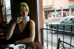 Coffee in Costa Rica Royalty Free Stock Image