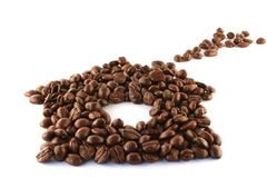Coffee cottage Royalty Free Stock Images