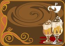Coffee_cream Royalty Free Stock Photos
