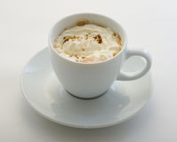 Coffee with cream Royalty Free Stock Photo