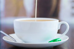 Coffee and Cream Stock Images