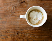 Coffee with cream  Stock Photos