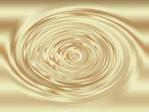 Coffee Cream Liquid Swirl. Coffee and cream liquid swirl effect set on a gradient background Stock Photos
