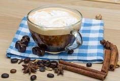 Coffee with cream Royalty Free Stock Photos