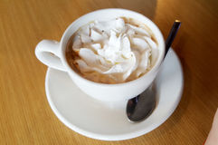 Coffee with cream Royalty Free Stock Image