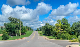 Coffee Creek Road Royalty Free Stock Photos
