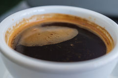 Coffee Crema Royalty Free Stock Image