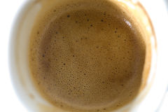 Coffee crema Stock Photos