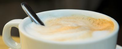 Coffee Cup #1 royalty free stock image