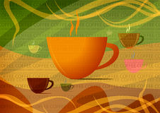 Coffee cup. An illustration of a coffee cup royalty free illustration