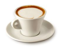 Coffee cup. With clipping path for easy background removing if needed Stock Photos