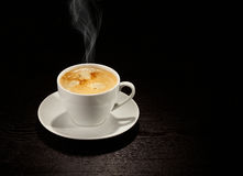 Coffee cup. Isolated on the background Royalty Free Stock Photography
