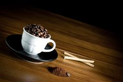 Coffee in cup Royalty Free Stock Images