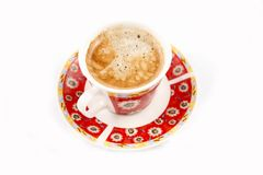 Coffee CUP. On white background Royalty Free Stock Photos
