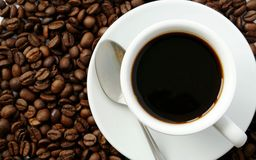 Coffee in a cup Stock Image