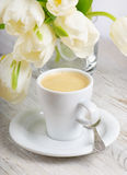 Coffee cup stock photo
