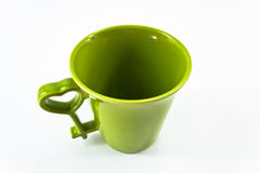 Coffee Cup. Isolate Photo of  Empty Coffee Cup Stock Image