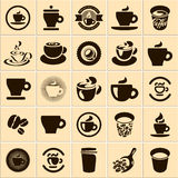 Coffee cup. Set. Tea cup. Vector icon collection vector illustration