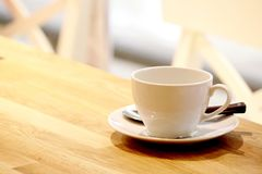 Coffee Cup. Or Tea Cup on Table Royalty Free Stock Photos