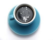 Coffee in A Cup Stock Photography