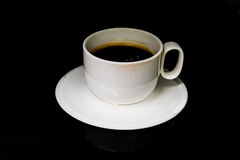 Coffee. A cup of coffee Royalty Free Stock Image