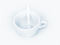The Coffee Cup Royalty Free Stock Image
